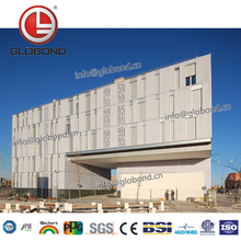 GLOBOND Best Price Exterior Wall Cladding Alucobond Aluminum Composite panel curtain wall