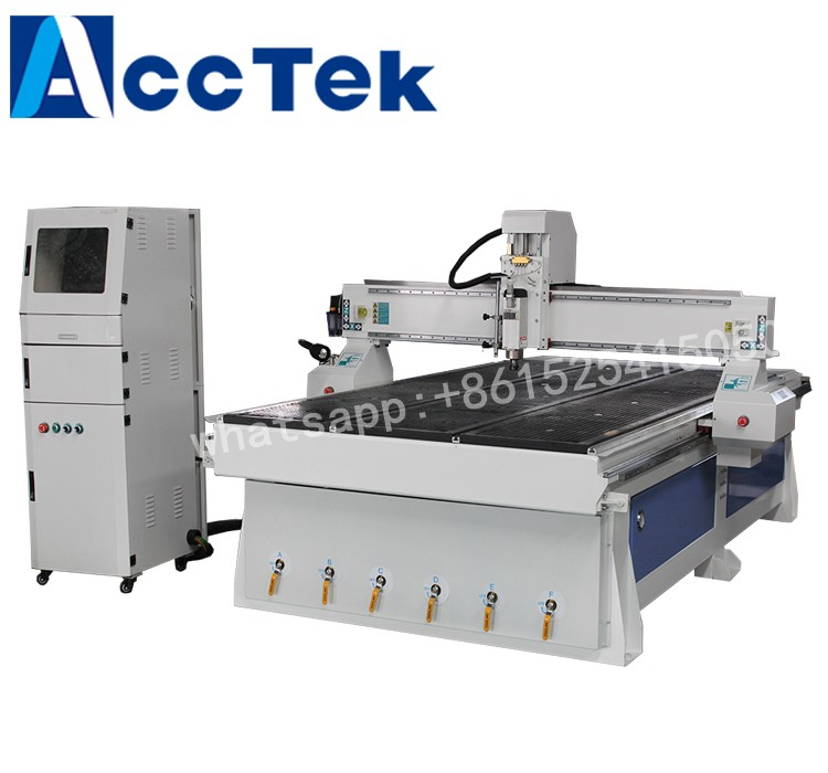 Jinan AKM1325 4th axis 3d woodworking cnc router 1325 price for furniture