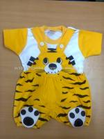 kids attractive fancy dress, suspender pants and t-shirts, available with customized design