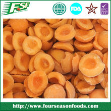 IQF/Frozen apricot halves/dices/slices, chinese frozen fruits new crop