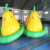 Giant Crazy Inflatable Pear Shape Disco Boat 4.5m Inflatable Water Toys