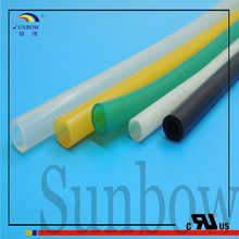With ISO 9001:2008 Standard UL High Quality Thin Wall Silicone Soft Colored Silicone Rubber Tubing 1MM