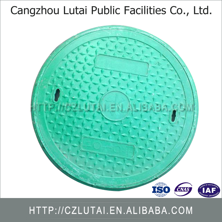 Competitive Price Good Sale D400 Black Bitumen Coated Iron Casting Manhole Cover