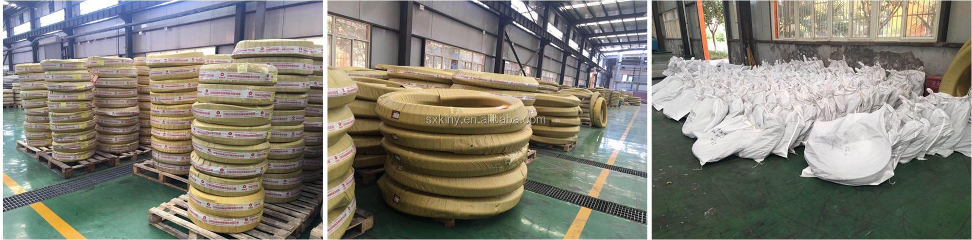 High Quality Oil Resistant Stainless Steel Braid Cover Hydraulic Hose