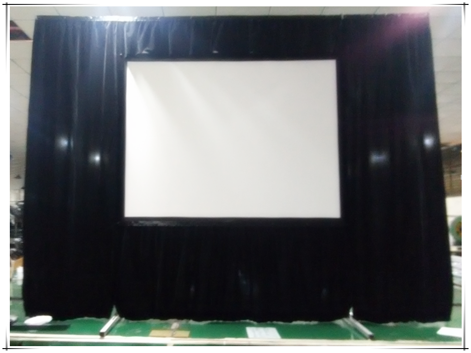 300 inch projector screen fast fold projection screen