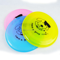 Dog Flyer Toys Frisbee Pet Natural Rubber Flyer Toys