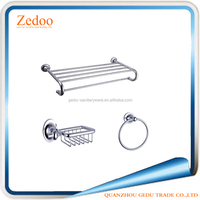 ZD-5000-1 13 Pcs wall mounted bathroom accessories set/hardware set for bathroom/towel bar towel rack hooks