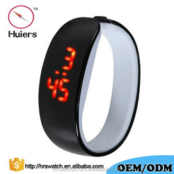 2016 new coming Unisex Gender and Not Specified,Water Resistant Feature touch led watch