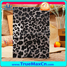 Leopard leather case for iPad mini, for iPad leopard skin case