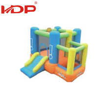 Fashionable commercial giant inflatable bouncy castle slide for sale