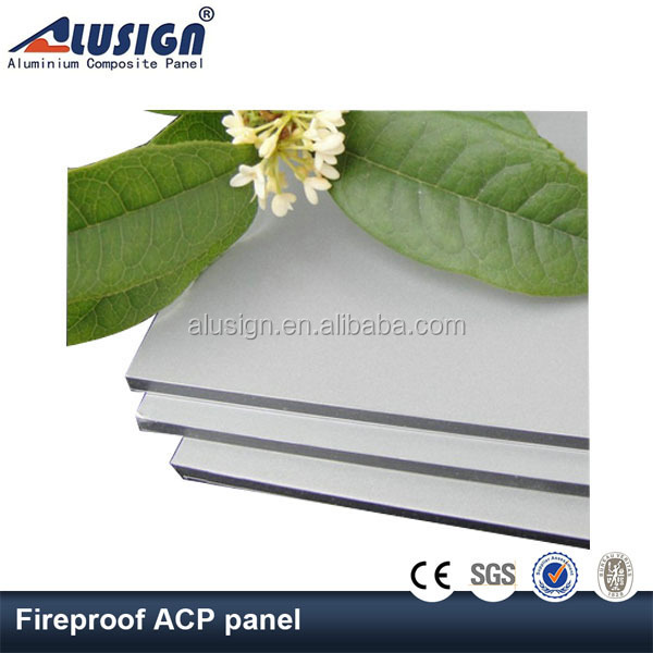Alusign aluminum composite architectural interior wall panel aluminum brushes soft board decorations
