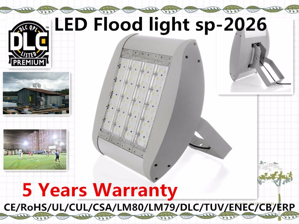 led flood light lamp 40w-300w sp2026 95lm/<strong>w</strong> or 105lm/<strong>w</strong>,UL/DLC/LM79/ERP