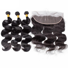 Wholesale Factory OEM Accepted Real Human Hair Ear to Ear Middle 3 Way Part 13x4 13x6 360 Lace Frontal Closure With Bundles
