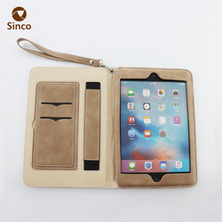 Dustproof black 7.9 inch pu leather fashion tablet pc cases for iPad mini