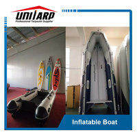 Inflatable banana boat and rescue boat for sale