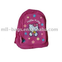 Kids school bags with hello kitty logo