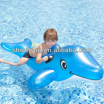 Inflatable Dolphin Animal Kids Rider