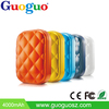 Guoguo High efficient sex pocket 5000mAh portable polymer mirror mobile power bank
