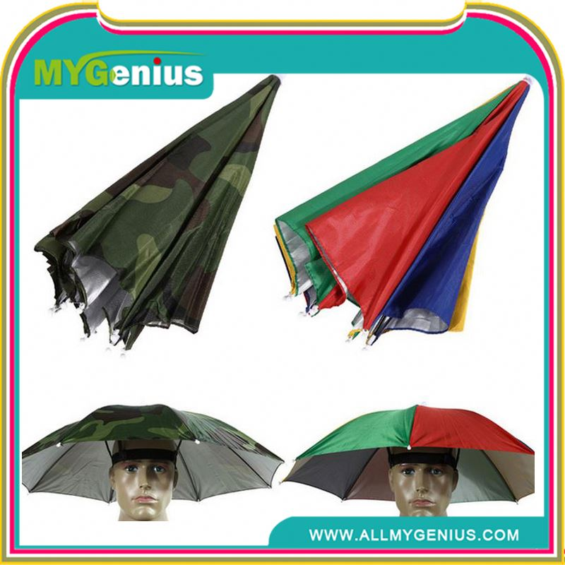 Hat shape umbrella ,umbrella head hat cap ,H0T6j plastic hat roofing nail