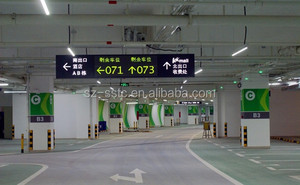Smart parking lot guidance system(PGS) for indoor car park (supermarket, shopping center, train station, theme park,etc)