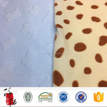100 % polyester made in china super soft printed velvet fabric