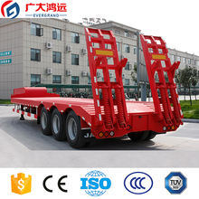 China EVERGRAND good quality 3 axle lowbed trailer for sale