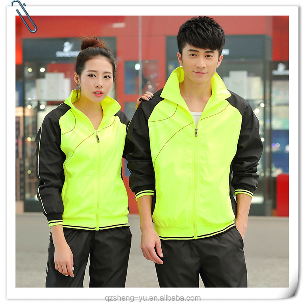 fashion sports tracksuit gym sports clothing for adults