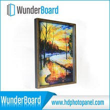 Black cool PS photo frame for wunderboard HD art crafts