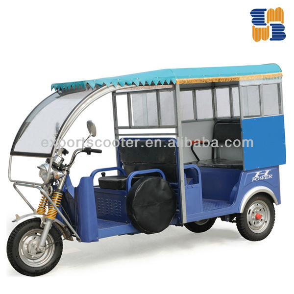 60V H POWER passenger electric auto rickshaw tricycle