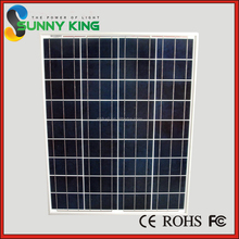 China Factory 135W poly silicon solar module & solar panel