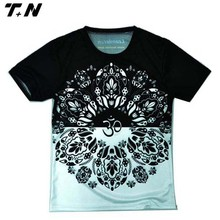 Top quality sublimated custom printed tshirt