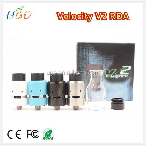 2016 Best Vaping Atomizer Velocity V2 RDA Vape Tanks