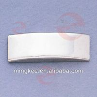 Custom Logo of Metal Nameplate Tag for Bag / Handbag (N24-753S)
