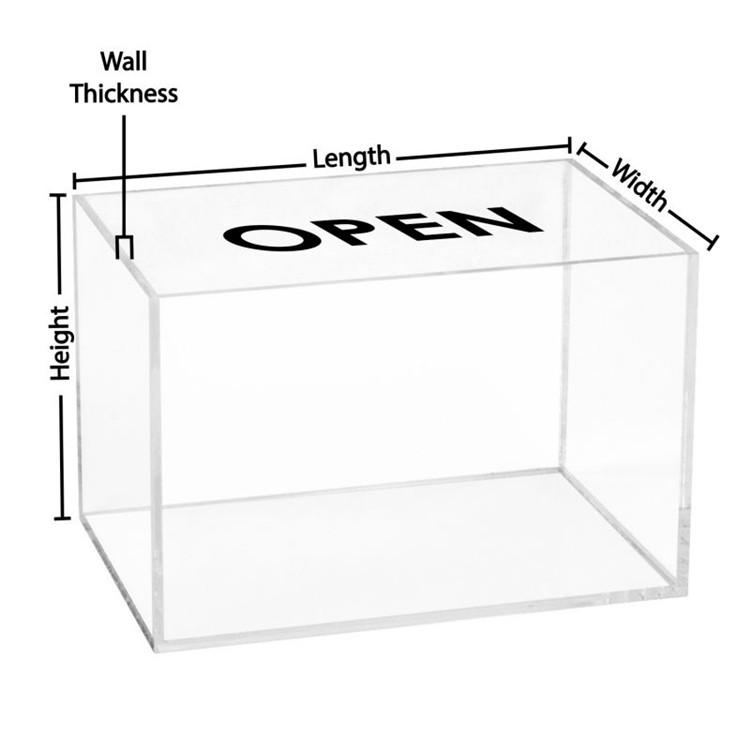 Clear Acrylic <strong>Display</strong> Box For Basketball Counter <strong>Display</strong> Case With Wooden Base