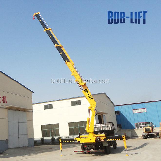 Knuckle Boom Cranes Manufacturers : Cheap price sq za hydraulic pump ton knuckle boom
