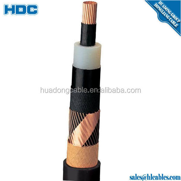 11KV 3*300mm2 240mm2 185mm2 150mm2 High Voltage XLPE Armoured Copper Power Cable