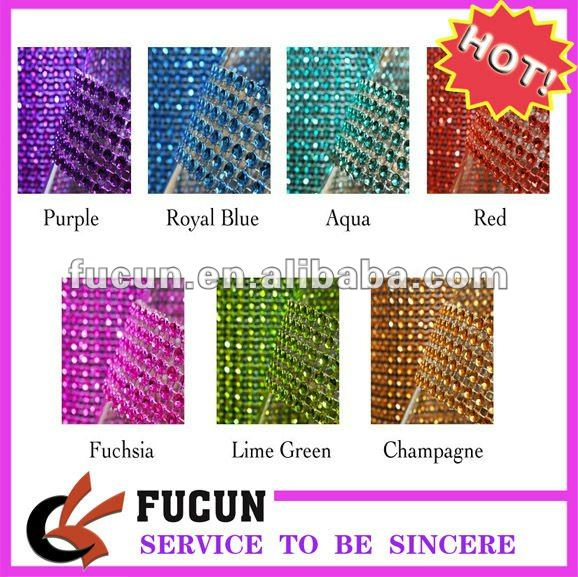 colorful plastic coated wire mesh panel,24rows