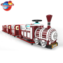 Cheap Amusement Theme Zone Tourist Train+Mini Train+Metal Christmas Train