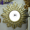 Good Price Beveled Golden Bronze Tinted Double Coated One Two-way Mirror Glass For Decoration Wall