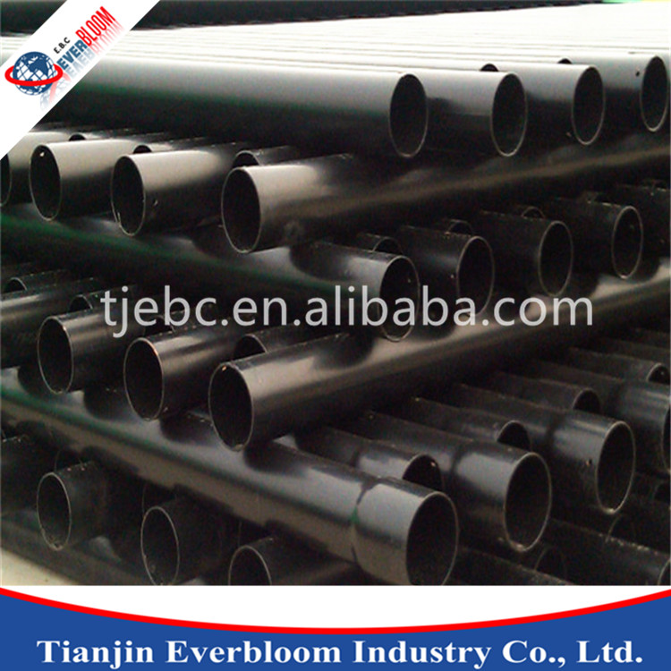 Gold customized epoxy coated steel pipe/galvanised hollow section line pipe coated