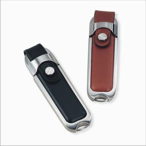 OEM leather key chain usb flash memory with high quality