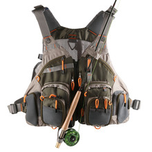 Breathable Multi-Pocket Fly Fishing Mesh Vest Size Adjustable