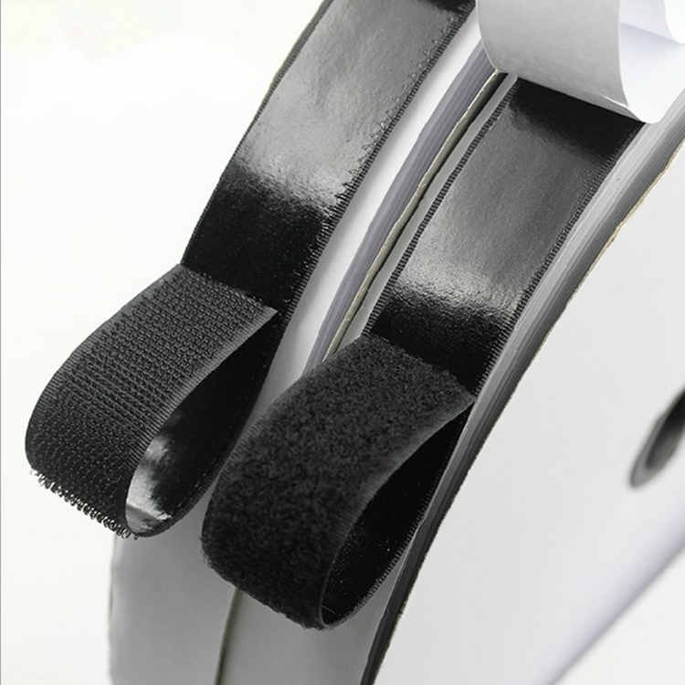 Self Adhesive Back Adhesive Hook And Loop Straps Hook And Loop Tape