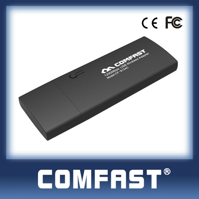 CF-912AC 1200Mbps Quad Smart Mini HD Tv Box Internet Dongle for Android