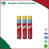 High quality 750 ml Single-component waterproof polyurethane expanding spray PU foam sealant adhesive