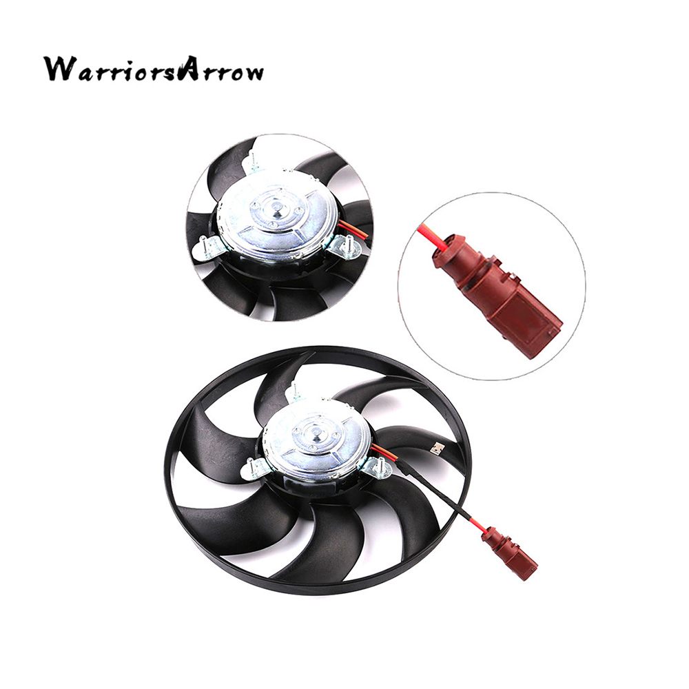 Air Conditioning Cooling Fan Assembly For CC 2009-2013