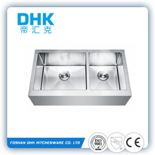 best discount water one piece kitchen sink hole cover and countertop D9153QB