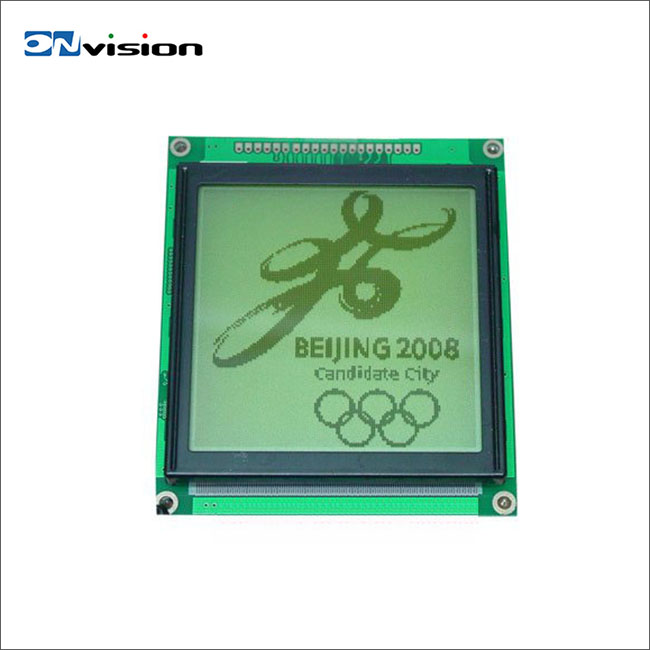 High quality T6963C monochrome module 128x128 graphic lcd display