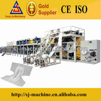 China Professional Automatic Adult Diaper Making Machine