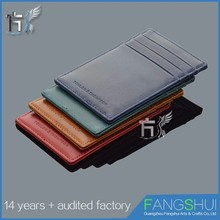 Large Capacity leather wallet pvc card holder